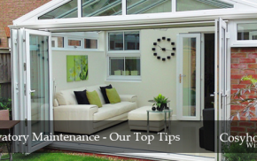 Conservatory Maintenance Tips