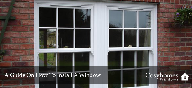 How To Install A Window