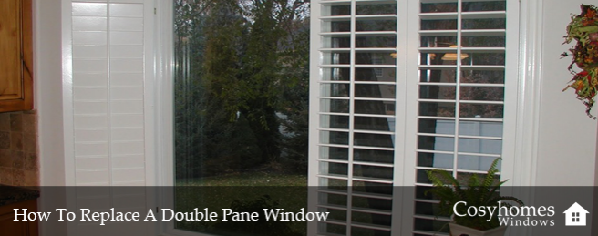 How To Replace A Double Pane Window