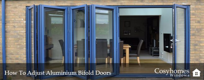 How to Adjust Aluminium Bifold Doors