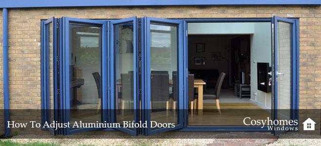 How to Adjust Aluminium Bifold Doors