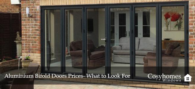 Aluminium Bifold Doors Prices- What to Look For