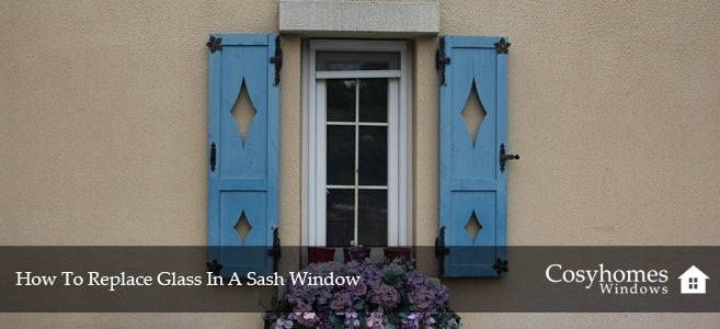 How To Replace Glass In A Sash Window