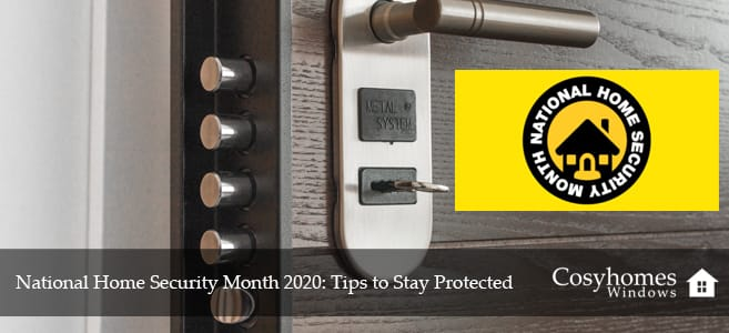 National Home Security Month 2020
