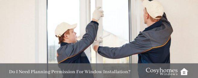 planning permission for window installation