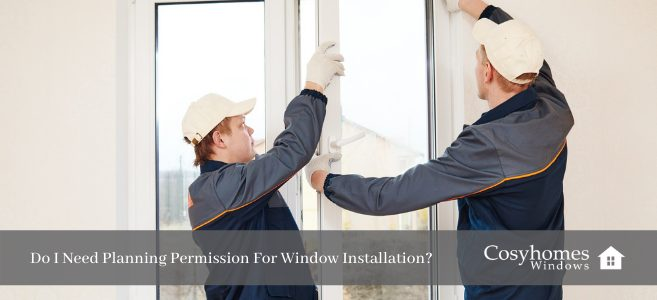 planning permission for window installation
